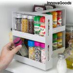 Kép 6/10 - InnovaGoods Csúsztatható és forgatható Fűszerrendező