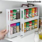 Kép 5/10 - InnovaGoods Csúsztatható és forgatható Fűszerrendező