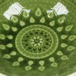 Kép 7/8 - Mélytányér Natural (18 X 18 x 6 cm) Szín  Zöld