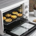 Kép 5/8 - Mini Elektromos Sütő Cecotec Bake'n Toast 1500W Szín  Fekete