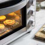 Kép 3/8 - Mini Elektromos Sütő Cecotec Bake'n Toast 1500W Szín  Fekete
