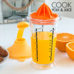 Kép 4/6 - Cook Yolk & Juice Keverőpohár Gyümölcsfacsaróval