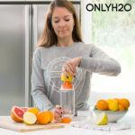Kép 3/7 - Sensations Citrus Gyümölcs Infúziós Palack Facsaróval