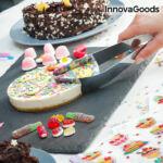 Kép 1/8 - InnovaGoods Tortaszeletelő és -Tálaló