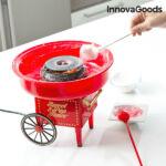 Kép 2/6 - InnovaGoods 500W Piros Vattacukor Készítő