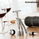 Kép 1/7 - InnovaGoods Borkiegészítő Készlet Screwpull Dugóhúzóval (4 Darabos)