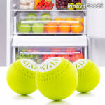 Kép 1/5 - InnovaGoods Ökolabdák Hűtőszekrénybe (3 darab)