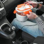Kép 1/6 - InnovaGoods Elektromos Autós Ételtartó 40W 12 V Fehér Narancssárga