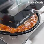 Kép 8/8 - InnovaGoods Presto Elektromos Pizzasütő 1200W Fekete