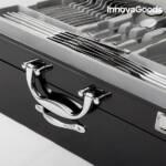 Kép 2/8 - InnovaGoods Cook D'Lux Rozsdamentes Acél Evőeszköz Készlet (72 darabos)