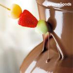 Kép 4/8 - Csokoládéfondü Készítő 70W Fehér Acél