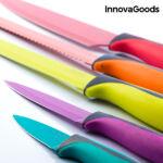 Kép 5/6 - InnovaGoods Swiss Q Fashion Kerámia Kés és Olló Készlet (6 darabos)