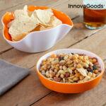 Kép 5/8 - InnovaGoods Snack Tál 2 az 1-ben (2 db)