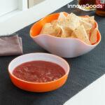 Kép 2/8 - InnovaGoods Snack Tál 2 az 1-ben (2 db)