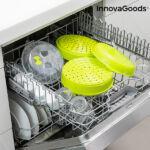 Kép 4/6 - InnovaGoods Fresh Dupla Pároló Mikrosütőhöz