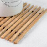 Kép 4/5 - TakeTokio Rugalmas Bambusz Edényalátét