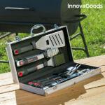 Kép 1/7 - InnovaGoods  Professzionális Eszközkészlet Barbecue-hoz (11 darabos)