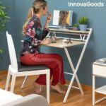 Kép 8/12 - Összecsukható iróasztal polccal Tablezy InnovaGoods Home Living