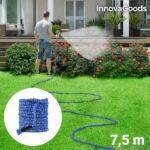 Kép 5/8 - InnovaGoods 7,5 m Hosszabbítható Locsolócső + szórófej, kék
