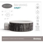 Kép 11/14 - Bestway LAY-Z-SPA Bahamas AIRJET Masszázsmedence 180X66 CM