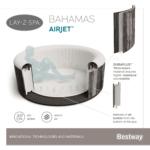 Kép 12/14 - Bestway LAY-Z-SPA Bahamas AIRJET Masszázsmedence 180X66 CM