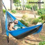 Kép 2/8 - InnovaGoods Swing & Rest Kemping Dupla Függőágy