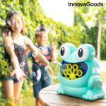 Kép 2/8 - InnovaGoods Automatikus szappanpumpás gép Froggly, kék