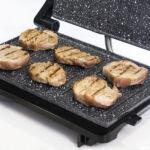 Kép 3/4 - Elektromos Barbecue Sütőt Cecotec Rock'nGrill 750 Full Open 750W Fekete Szürke