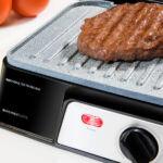 Kép 3/6 - Kontakt grill Cecotec Rock'n grill 1500 Take&Clean 1500W Fekete Ezüst színű