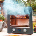 Kép 4/7 - Elektromos Barbecue Sütőt Cecotec Txuletaco 8000 Inferno 850ºC 2200W Fekete