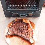 Kép 2/7 - Elektromos Barbecue Sütőt Cecotec Txuletaco 8000 Inferno 850ºC 2200W Fekete