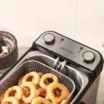 Kép 4/8 - Cecotec CleanFry Infinity 4000 Full Inox 4 L 3270W Rozsdamentes acél Olajsütő