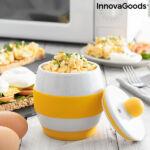 Kép 1/7 - Kerámia mikrohullámú sütőben használható tojásrántotta készítő InnovaGoods