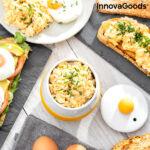 Kép 7/7 - Kerámia mikrohullámú sütőben használható tojásrántotta készítő InnovaGoods