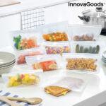 Kép 1/8 - Újrafelhasználható élelmiszerzsák készlet Freco InnovaGoods 10 Darabos