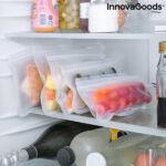 Kép 5/8 - Újrafelhasználható élelmiszerzsák készlet Freco InnovaGoods 10 Darabos