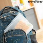 Kép 4/8 - Újrafelhasználható élelmiszerzsák készlet Freco InnovaGoods 10 Darabos