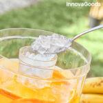 Kép 4/8 - Dupla ital adagoló jégrekeszekkel és snack tálcával TwinTap InnovaGoods