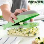 Kép 5/10 - InnovaGoods 7 az 1-ben zöldségdaraboló és reszelő receptekkel