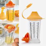 Kép 1/6 - Cook Yolk & Juice Keverőpohár Gyümölcsfacsaróval