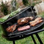 Kép 2/4 - BBQ Classics Kétszintes Faszenes Barbecue Sütő