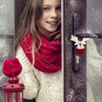 Kép 2/4 - Karácsonyi dísz szett (2 db) 145105 Szín Fehér