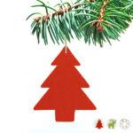 Kép 1/6 - Karácsonyfagömb 149537 Minta Rénszarvas