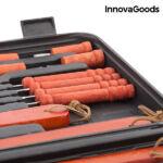 Kép 4/8 - InnovaGoods Barbecue Bőrönd (18 Részes)