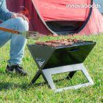 Kép 5/6 - InnovaGoods Hordozható és Összecsukható Faszenes Barbecue Sütő