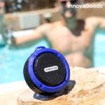 Kép 7/8 - Vízálló Hordozható Vezeték nélküli Bluetooth Hangszóró