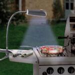 Kép 1/2 - BBQ Barbecue Lámpa Csipesszel (9 LED Lámpa)