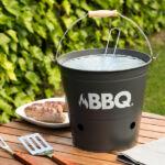 Kép 4/5 - BBQ Faszenes Barbecue Vödör