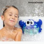 Kép 1/8 - InnovaGoods Zenés tarisznyarák szappanbuborékokkal Crabbly