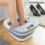 Kép 1/8 - InnovaGoods Összecsukható lábfürdő Aqua·relax 450W